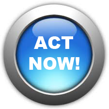 Blue Act Now Button