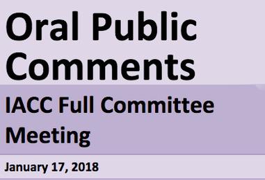 IACC Comments